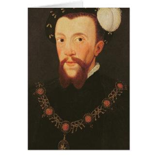Portrait of Henry Howard, 1546 Card