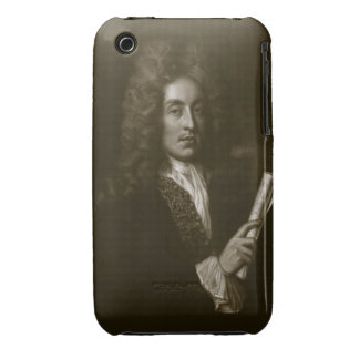 Portrait of Henry Purcell (1659-95) engraved by Ge iPhone 3 Cover