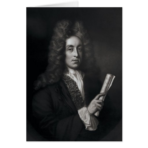 Portrait of Henry Purcell Card