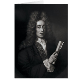 Portrait of Henry Purcell Greeting Card