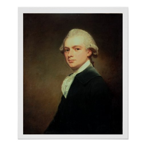 Portrait of Henry Russell (1751-1836) c.1783 (oil Posters