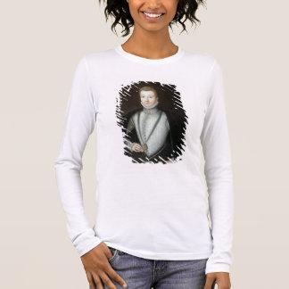 Portrait of Henry Stewart, Earl of Darnley (1545-6 Long Sleeve T-Shirt
