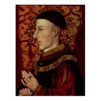 Portrait of Henry V Postcard