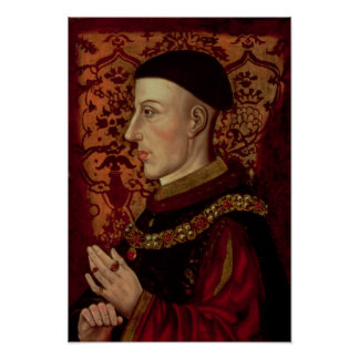 Portrait of Henry V Poster