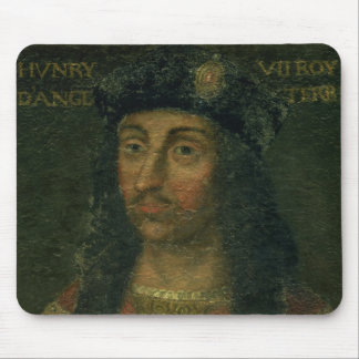 Portrait of Henry VII (1457-1509) (oil on panel) Mouse Pad