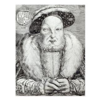 Portrait of Henry VIII 1548 Postcards
