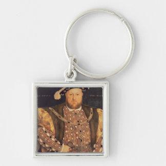 Portrait of Henry VIII  aged 49, 1540 Keychain