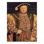 Portrait of Henry VIII  aged 49, 1540 Postcard