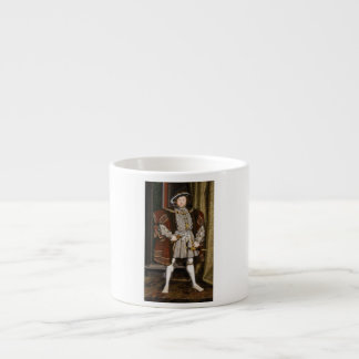 Portrait of Henry VIII by Hans Holbein the Younger Espresso Mug