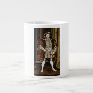 Portrait of Henry VIII by Hans Holbein the Younger Jumbo Mugs
