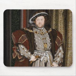 Portrait of Henry VIII Mousepads
