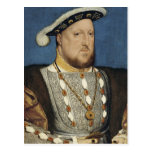 Portrait of Henry VIII of England by Hans Holbein Postcard