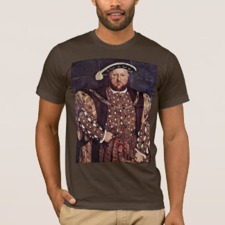 Portrait Of Henry Viii Of England T-Shirt