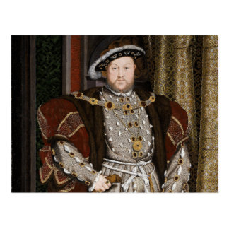 Portrait of Henry VIII Postcard