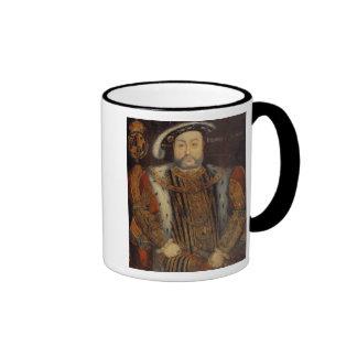 Portrait of Henry VIII Ringer Mug