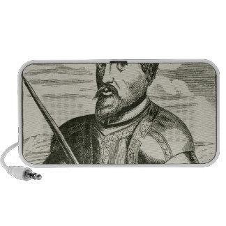 Portrait of Hernando de Soto Mini Speaker