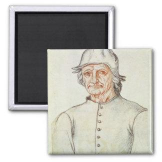 Portrait of Hieronymus Bosch Magnet