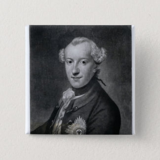 Portrait of His Most Serene Highness Charles 15 Cm Square Badge