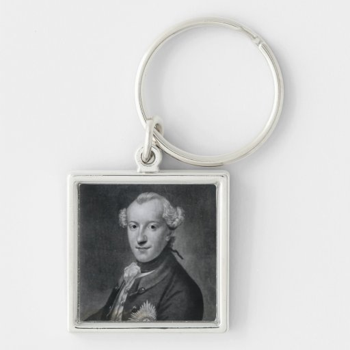 Portrait of His Most Serene Highness Charles Key Chains