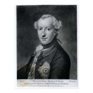 Portrait of His Most Serene Highness Charles Postcard