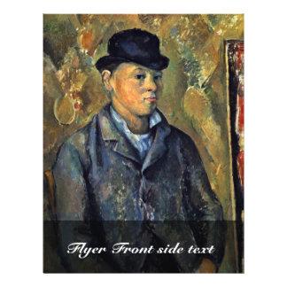 Portrait Of His Son, Paul Cézanne By Paul Cézanne 21.5 Cm X 28 Cm Flyer