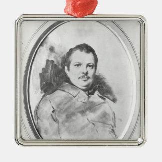 Portrait of Honore de Balzac  c.1820 Christmas Ornament