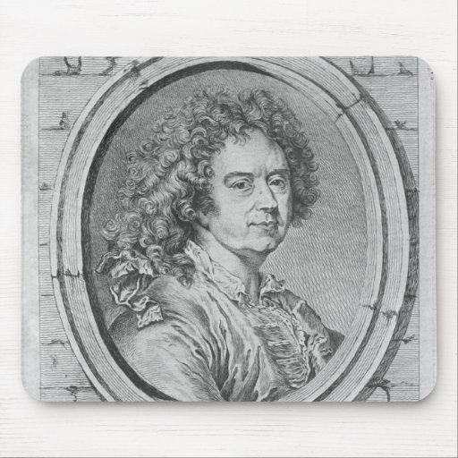 Portrait of Hyacinthe Rigaud, 1752-65 Mousepads