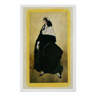 Portrait of Ida Lvovna Rubinstein (c.1885-1960) (c Poster