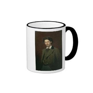 Portrait of Ilya Efimovich Repin, 1876 Ringer Mug