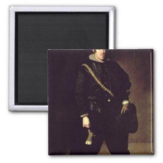 Portrait of Infante Don Carlos  c.1626-27 Square Magnet