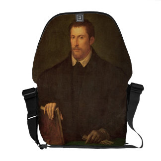 Portrait of Ippolito Riminaldi Messenger Bag