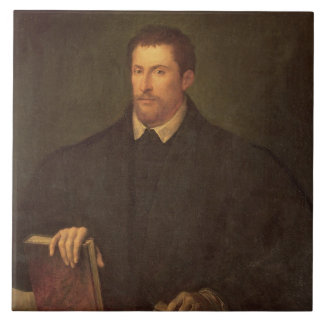 Portrait of Ippolito Riminaldi Ceramic Tiles