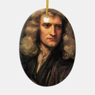 Portrait of Isaac Newton (1642-1727) Christmas Ornament