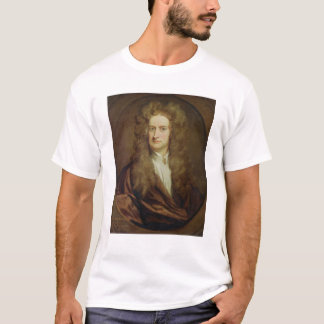 Portrait of Isaac Newton  1702 T-Shirt