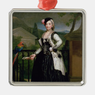Portrait of Isabel Parrena Arce Christmas Ornament