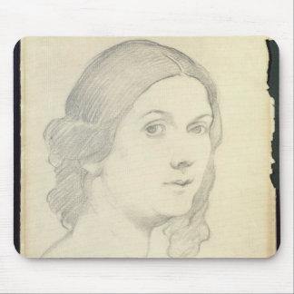 Portrait of Isadora Duncan , 1908 Mouse Mat