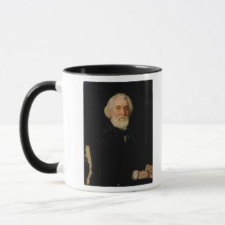 Portrait of Ivan S. Turgenev , 1879 Mug