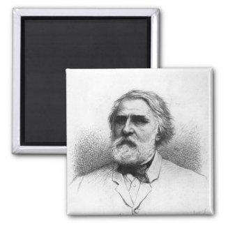 Portrait of Ivan Turgenev Magnet