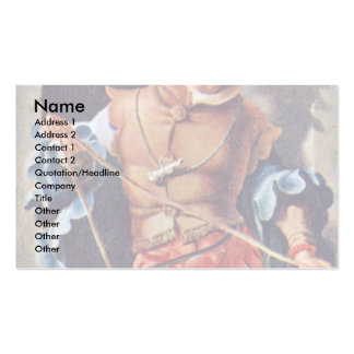 Portrait Of Jacob Van Montfort Florisz By Leyden L Pack Of Standard Business Cards