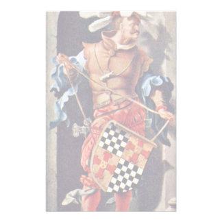 Portrait Of Jacob Van Montfort Florisz By Leyden L Customized Stationery
