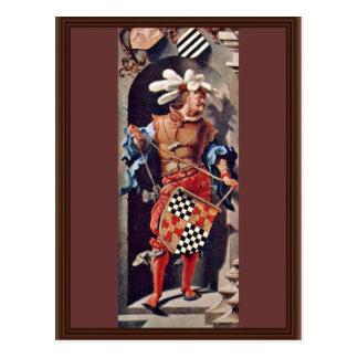 Portrait Of Jacob Van Montfort Florisz By Leyden L Post Cards