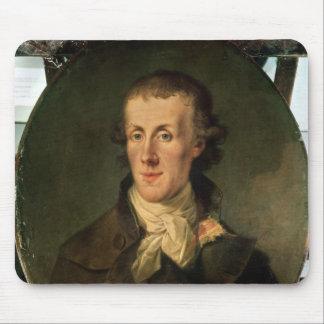 Portrait of Jacques Pierre Brissot Mouse Mat