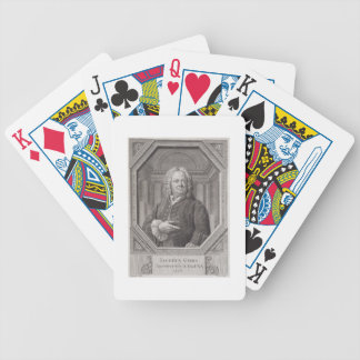 Portrait of James Gibbs (1682-1754) from 'Plans, S Bicycle Playing Cards