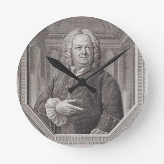 Portrait of James Gibbs (1682-1754) from 'Plans, S Round Clock