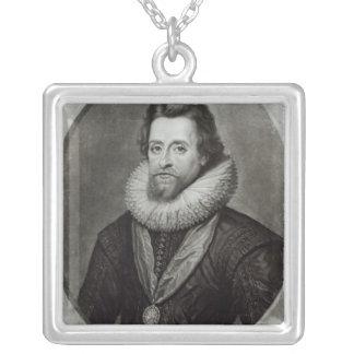 Portrait of James I  after a miniature by Pendants