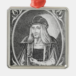 Portrait of James IV of Scotland Christmas Ornament