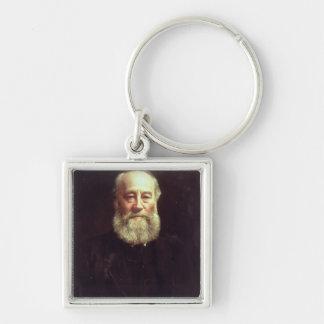 Portrait of James Prescott Joule Keychains