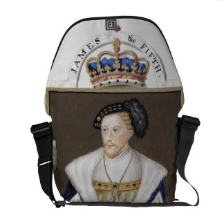 Portrait of James V (1512-42) King of Scotland fro Messenger Bag