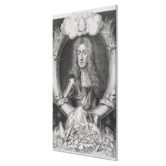 Portrait of James VII of Scotland, II of England ( Canvas Print