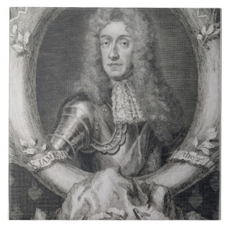 Portrait of James VII of Scotland, II of England ( Tile